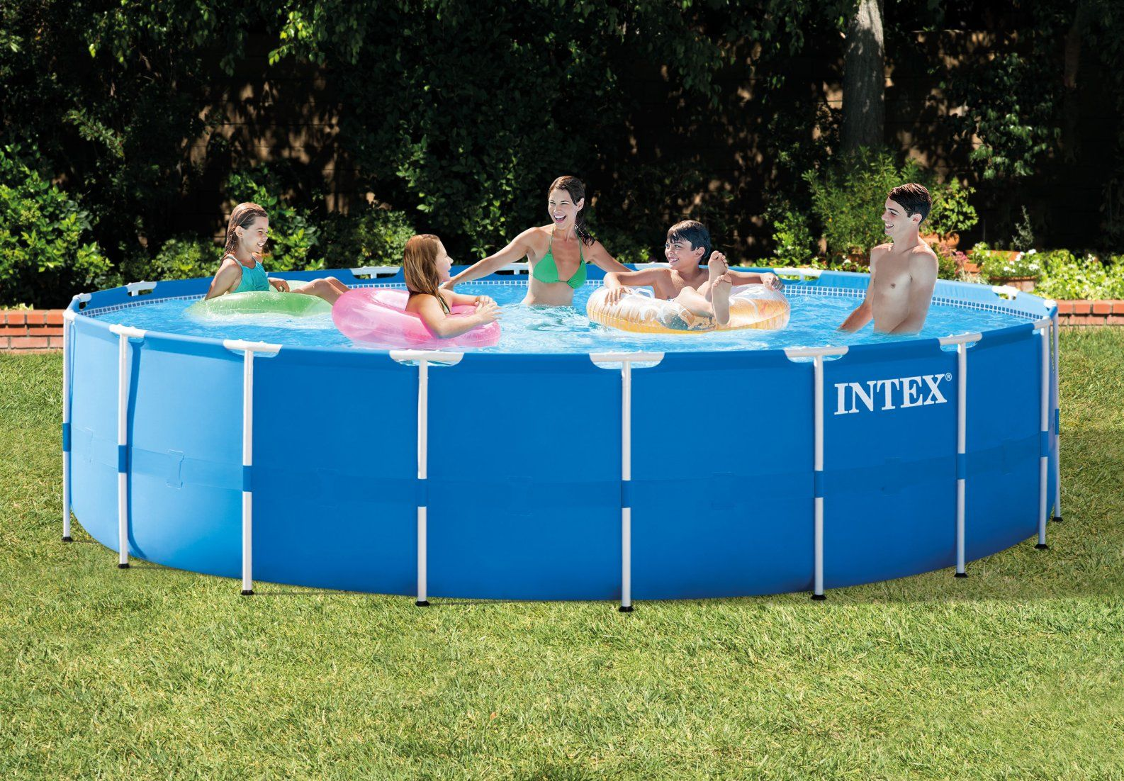 best metal frame pool intex metal frame pool review. Black Bedroom Furniture Sets. Home Design Ideas