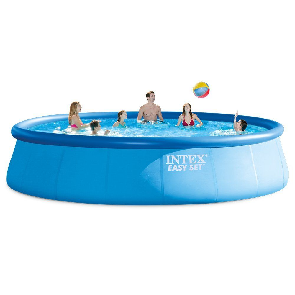 Intex easy set pool review best inflatable pool for 2017 - Above ground swimming pools reviews ...