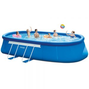 Intex Oval Frame Above Ground Pool Set